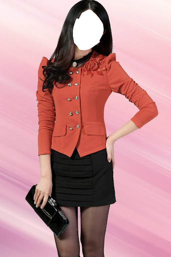 Woman Jacket Photo Suit