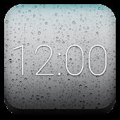 Rain Clock for Gear Fit