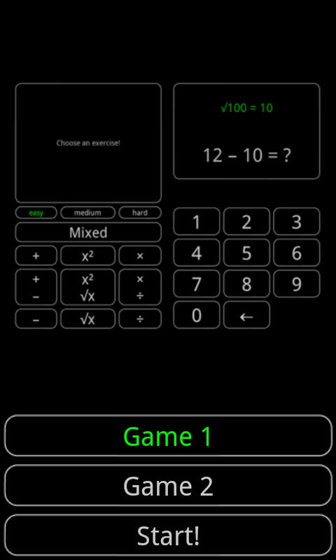 Tiny Math Game- screenshot