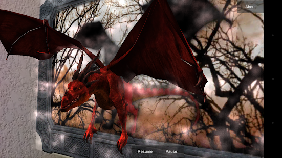 Augmented Reality Dragon Art - screenshot thumbnail