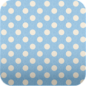 blue polkadots wallpaper