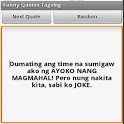 Funny Quotes Tagalog icon