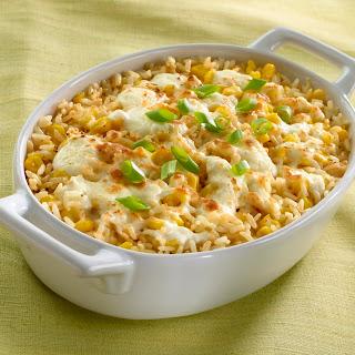 Creamy Rice With Corn.