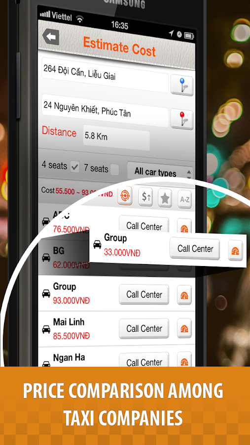 Taxi Navi – Quick call Taxi- screenshot