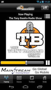 The Tony Basilio Radio Show - screenshot thumbnail