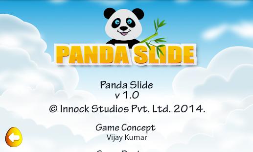 Panda Slide - náhled