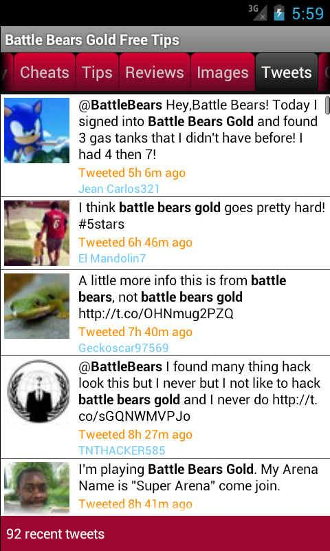Battle Bears Gold Free Tips - screenshot