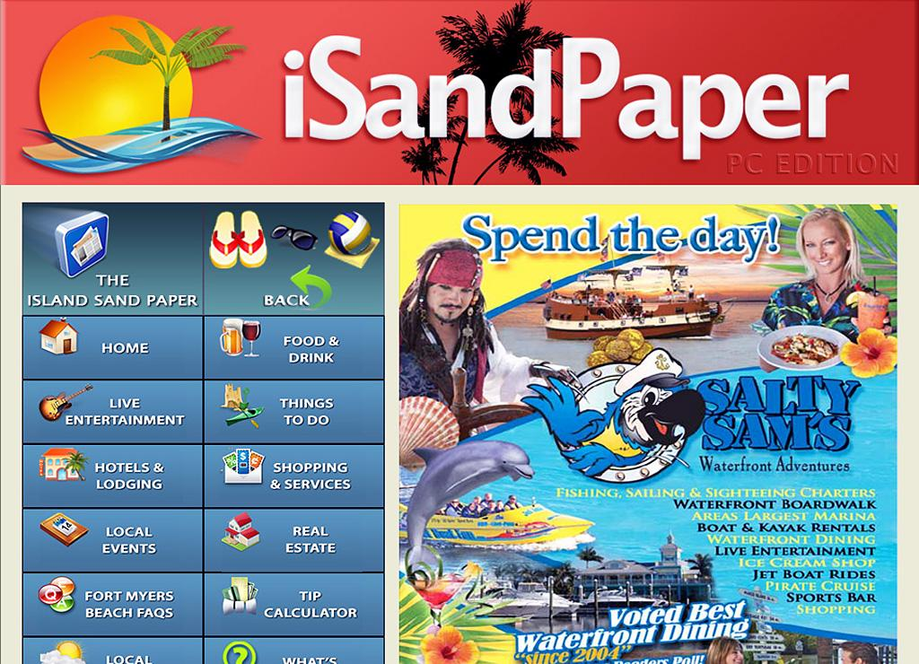 iSandPaper Fort Myers Beach- screenshot