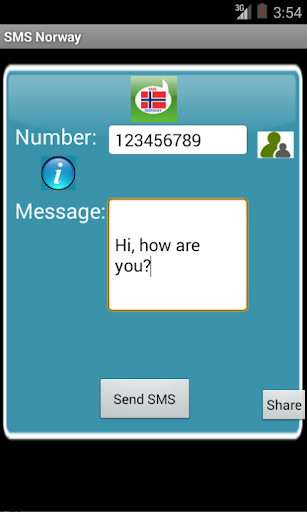Free SMS Norway