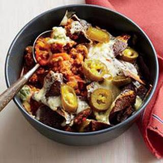 Smoky Buffalo-Style Chicken or Turkey Chili Bowls.
