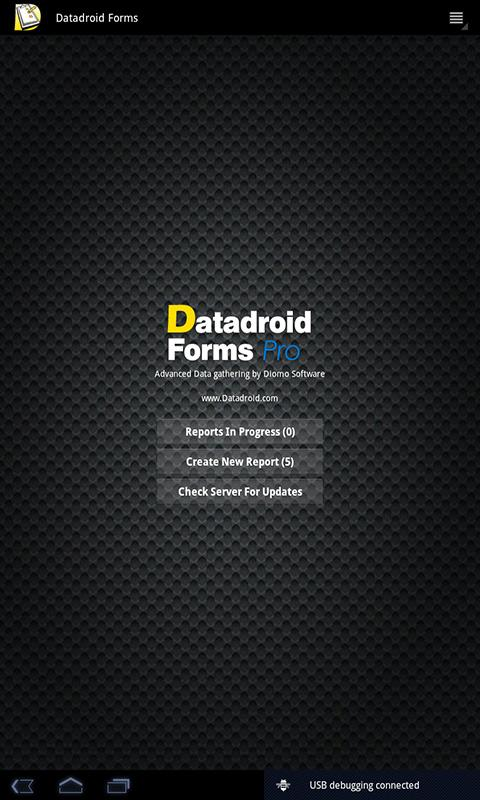 Datadroid Forms Pro- screenshot