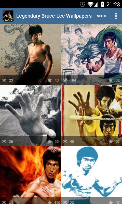 Legendary Bruce Lee Wallpapers - screenshot