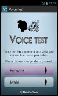 Voice Test- screenshot thumbnail