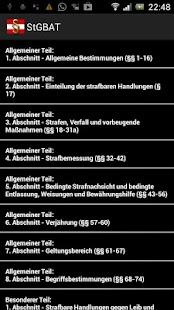 Strafgesetzbuch Österreich Pro- screenshot thumbnail