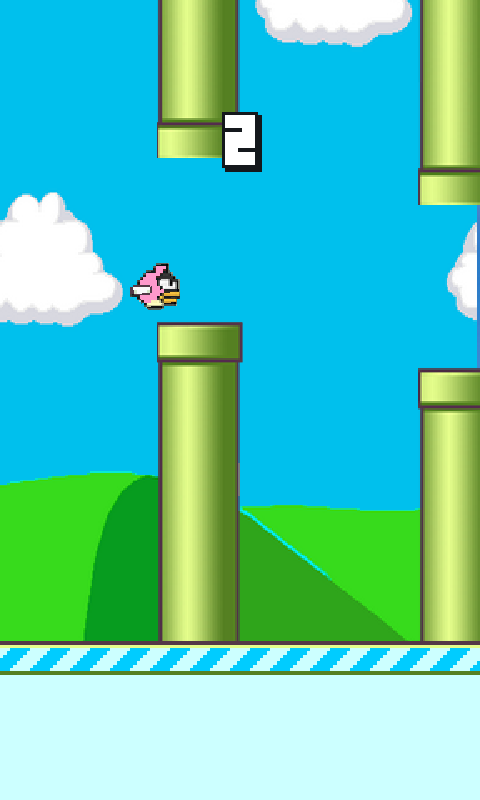 Floppy Bird 2014 - screenshot