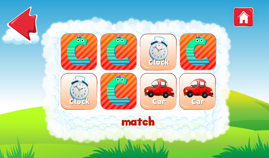 ABC Funny Cloud Learn Alphabet - screenshot