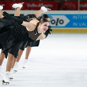 Synchronized skating by Alexis Courthoud - Sports & Fitness Other Sports ( mondiali, courmayeur, vda, skating, synchro, world )