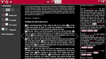 Screenshot of Bible d'étude Segond 21