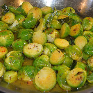 Pan-tossed Brussels Sprout in South-Indian Flavors.