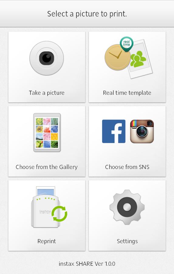 instax SHARE- screenshot
