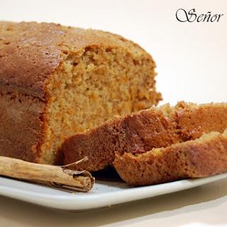 Carrot Cinnamon Loaf.