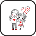 Dasom Couple GO sms theme icon