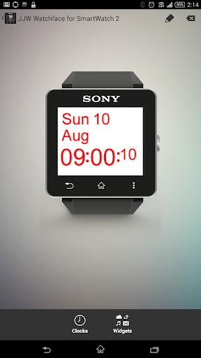 JJW Simplicity Watchface 1 SW2