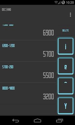 Calculator SAO Theme - screenshot