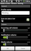 Screenshot of Mobile Profiles