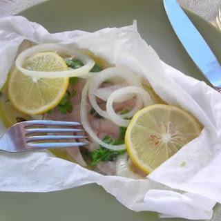 Pressure Cooker Fish in a Packet (Pesce al Cartoccio).