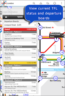 Tube Map London Underground- screenshot thumbnail