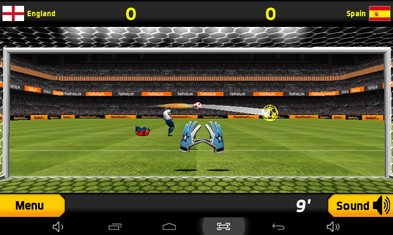 Goalkeeper Premier Soccer Game- screenshot