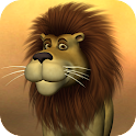 Talking Luis Lion logo