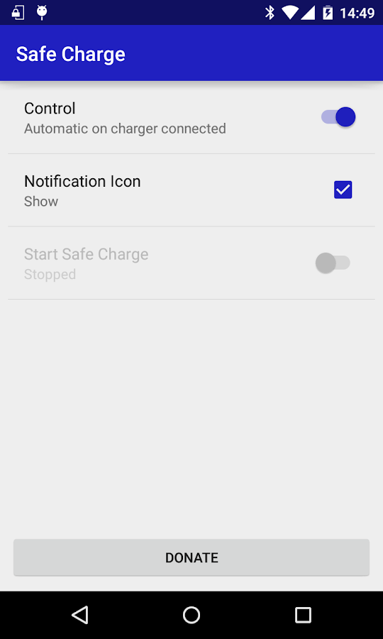 Safe Charge- screenshot