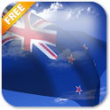 3D New Zealand Flag LWP icon