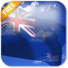 3D New Zealand Flag Live Wallpaper icon