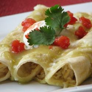 Green Sauce Enchiladas