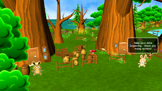Easter Bunny Adventure Game