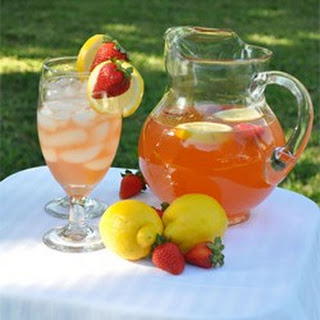 Pink Honey Lemonade