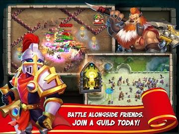 Castle Clash Captura de pantalla 4