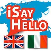 iSayHello English - Italian