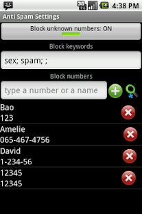 Anti SMS Spam & Private Box- screenshot thumbnail
