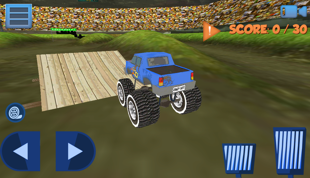 MONSTER TRUCK OFF ROAD 2- screenshot