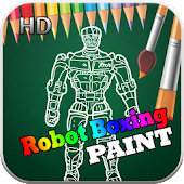 Real Paint Robot Boxing