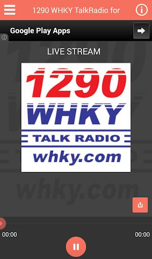 1290 WHKY Talk Radio