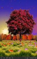 Screenshot of Autumn Trees Free