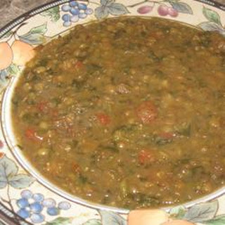 Bryan's Spicy Red Lentil Soup