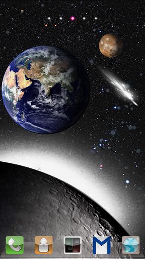 Galaxy Planet Theme