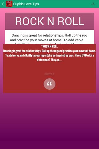 Cupid's Love Tips - screenshot