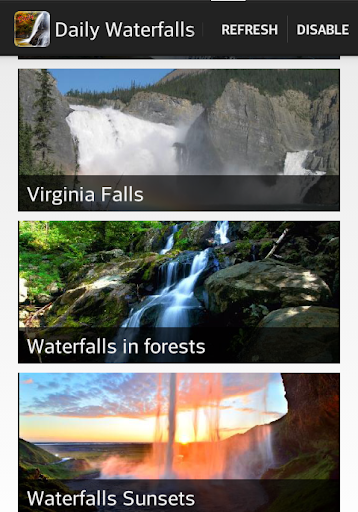 Waterfalls Daily Wallpapers